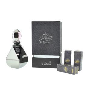 """סט יוניסקס חייאתי Hayati Perfume Oil 4  בושם 3 מ""""ל ו-3 מילויים Al Haramain"""