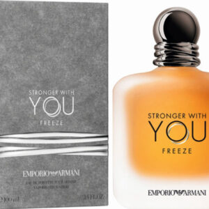 "Stronger With You Freeze – EMPORIO ARMANI 100 מ""ל א.ד.ט"