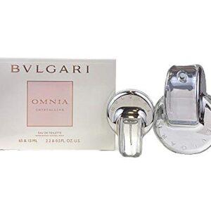 """א.ד.ט 65 מ""""ל + 15 מ""""ל  Bvlgari – Omnia Crystalline מארז בישום מתנה"""