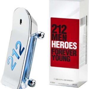 """212 מאן ארוס פור אבר יינג 90 מ""""ל א.ד.ט – 212 Heroes – Carolina Herrera"""