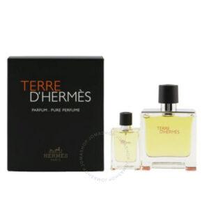 """Terre Dhermes  Hermes Set סט הרמס 75+12.5 מ""""ל פרפיום פיור פרפיום"""